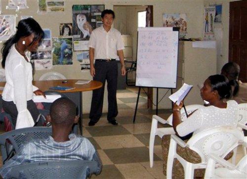 Liberia Chinese Class